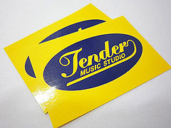 Gloss Paper Sticker tender