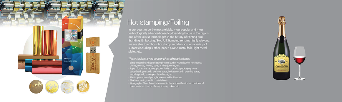 Foil Stamping Sticker Printing UK