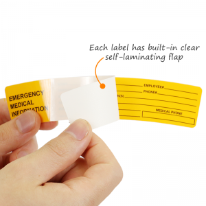 Self Laminating Labels