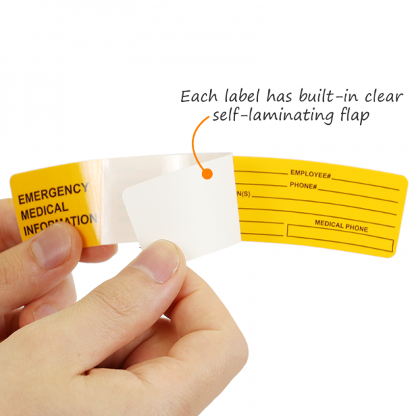 Self Laminating Label